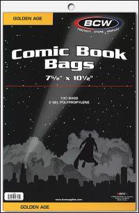 PLASTIC BAGS Golden Age (100)