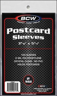 PLASTIC BAGS Postcard (100)