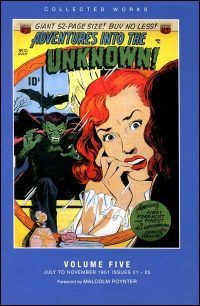 ADVENTURES INTO THE UNKNOWN Volume 5