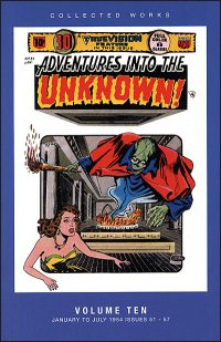 ADVENTURES INTO THE UNKNOWN Volume 10