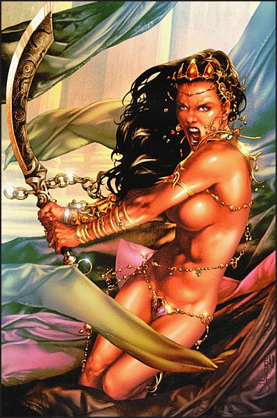 ART OF DEJAH THORIS AND THE WORLDS OF MARS-3891
