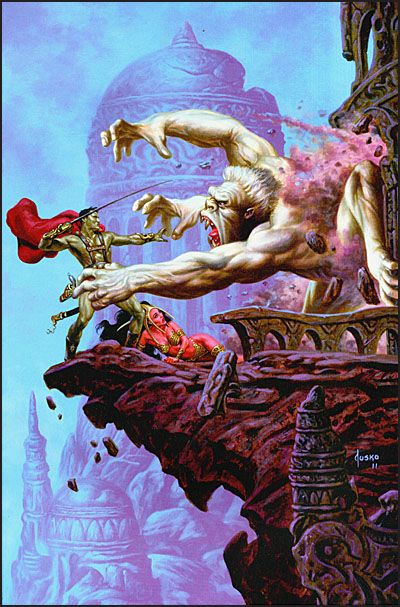 ART OF DEJAH THORIS AND THE WORLDS OF MARS-3892