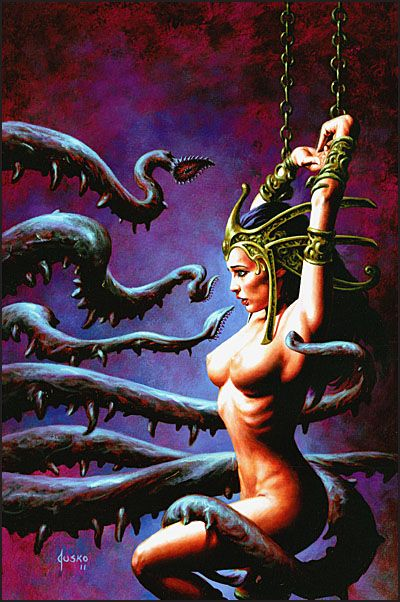 ART OF DEJAH THORIS AND THE WORLDS OF MARS-3893