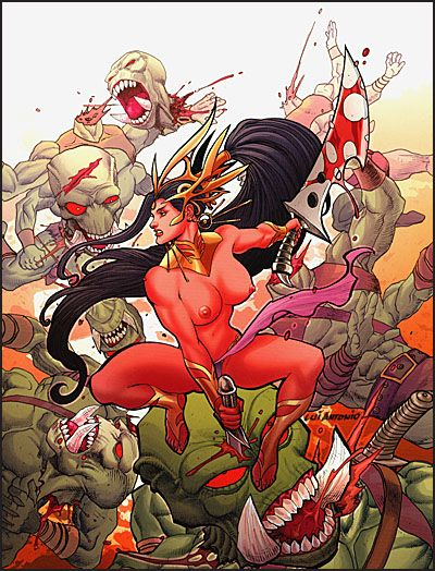 ART OF DEJAH THORIS AND THE WORLDS OF MARS-3894