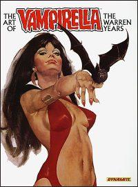 ART OF VAMPIRELLA The Warren Years Covers