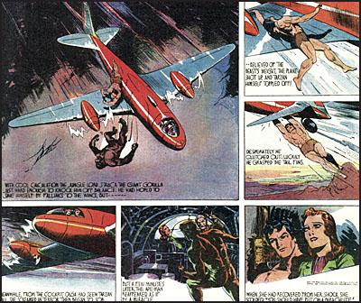 EDGAR RICE BURROUGHS TARZAN Volume 2 Tarzan Versus the Barbarians-7777