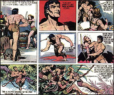 EDGAR RICE BURROUGHS TARZAN Volume 2 Tarzan Versus the Barbarians-7779