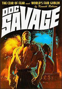 DOC SAVAGE #17 JAMES BAMA COVER