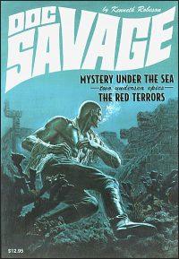 DOC SAVAGE #22 JAMES BAMA COVER