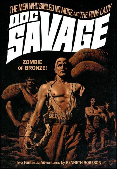 DOC SAVAGE #42 JAMES BAMA COVER-0