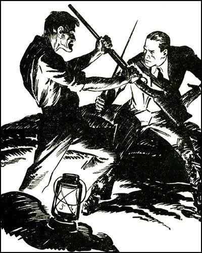 DOC SAVAGE #42 JAMES BAMA COVER-13764