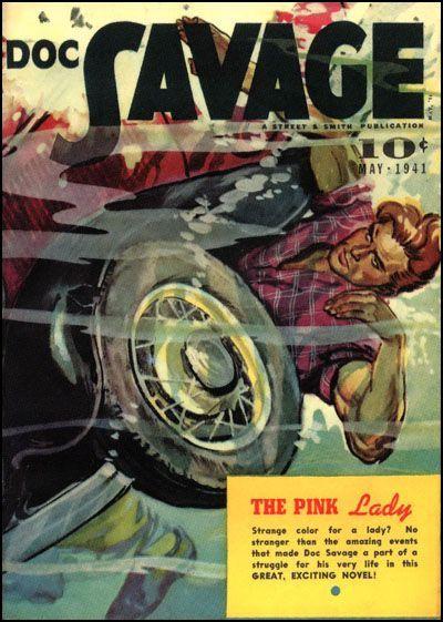 DOC SAVAGE #42 JAMES BAMA COVER-13765