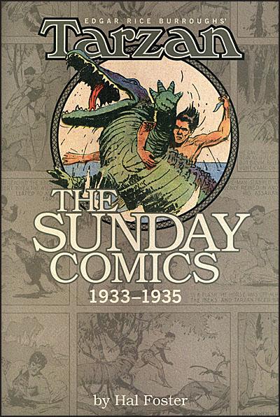 EDGAR RICE BURROUGHS' TARZAN The Sunday Comics Volume 2-0