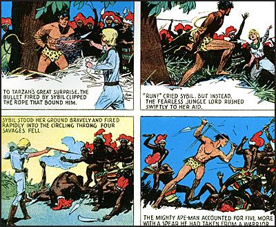 EDGAR RICE BURROUGHS' TARZAN The Sunday Comics Volume 2-7732