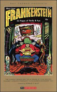 ROY THOMAS PRESENTS FRANKENSTEIN Volume 4