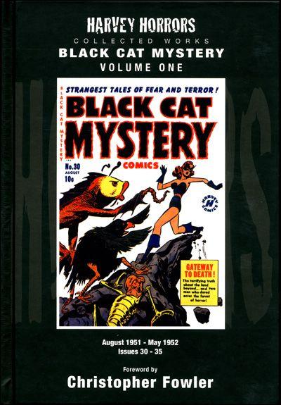 HARVEY HORRORS BLACK CAT MYSTERY Volume 1 Hardcover-0