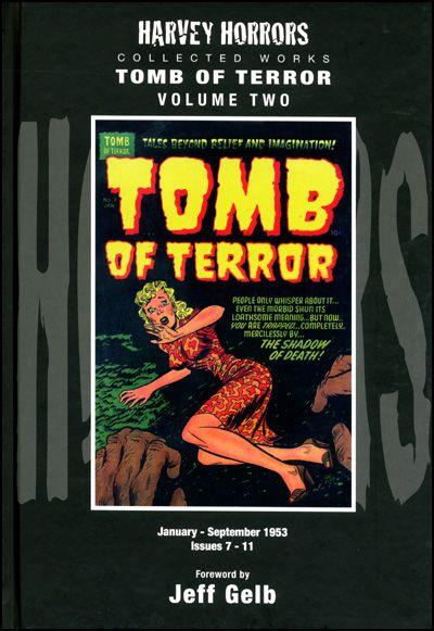 HARVEY HORRORS TOMB OF TERROR Volume 2 Hardcover-0