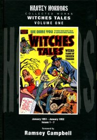 HARVEY HORRORS WITCHES TALES Volume 1 Hardcover