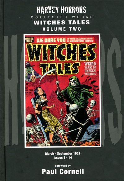 HARVEY HORRORS WITCHES TALES Volume 2 Hardcover-0
