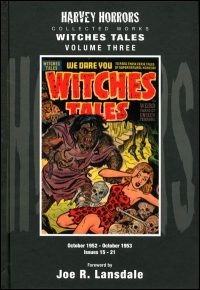 HARVEY HORRORS WITCHES TALES Volume 3 Hardcover