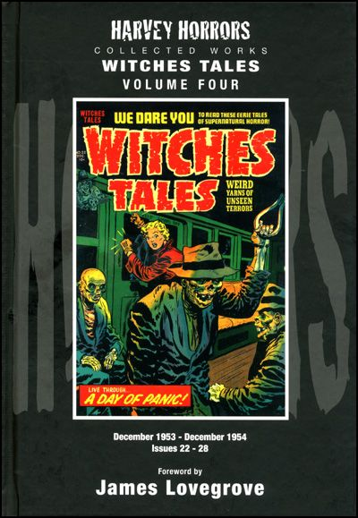 HARVEY HORRORS WITCHES TALES Vol 4 Hardcover-0