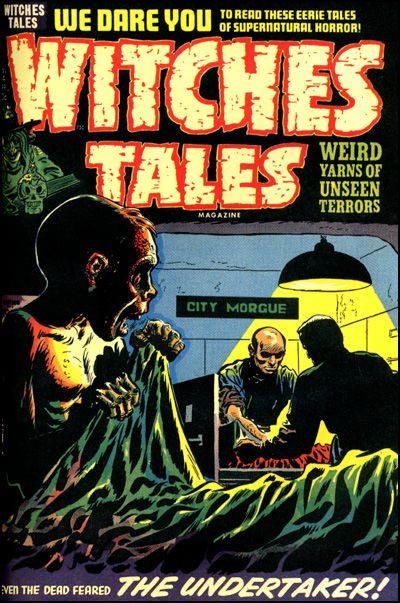 HARVEY HORRORS WITCHES TALES Vol 4 Hardcover-5473