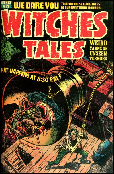 HARVEY HORRORS WITCHES TALES Vol 4 Hardcover-5474
