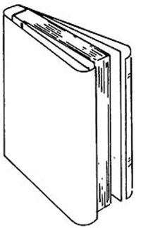 FOLD-ON ARCHIVAL BOOK JACKETS 8-Inch (10)