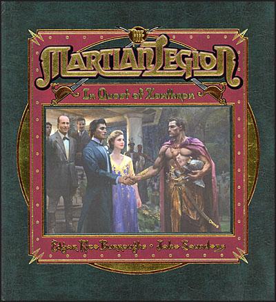 TARZAN AND THE MARTIAN LEGION-0