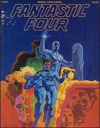 MARVEL COMICS INDEX Volume 1 #4 Fantastic Four Hurt
