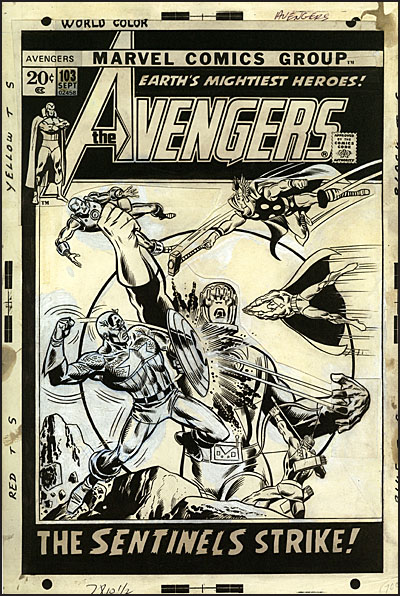 MARVEL COVERS Artist's Edition -3315
