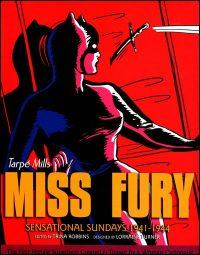 MISS FURY Sensational Sundays 1941-1944