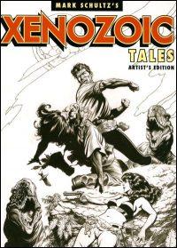 MARK SCHULTZ'S XENOZOIC TALES Artist's Edition Signed
