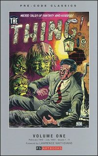 PRE-CODE CLASSICS THE THING Volume 1