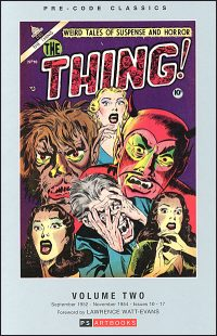 PRE-CODE CLASSICS THE THING Volume 2