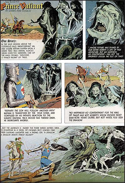 THE PRINCE VALIANT PAGE-3992