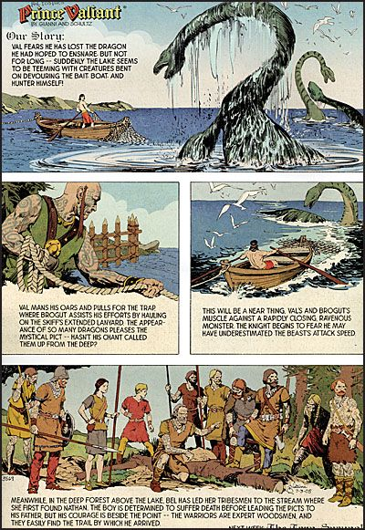 THE PRINCE VALIANT PAGE-3993
