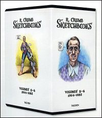 R CRUMB THE SKETCHBOOKS 1964-1982 Set Deluxe Signed