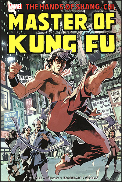 HANDS OF SHANG-CHI MASTER OF KUNG FU Omnibus Volume 1
