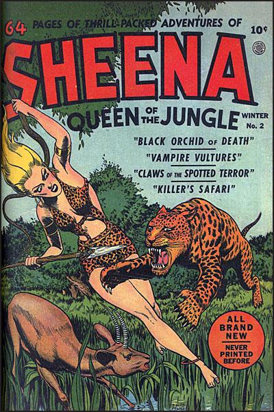 SHEENA QUEEN OF THE JUNGLE Volume 1-6115