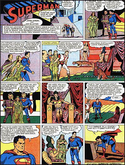 SUPERMAN The Golden Age Sundays 1943-1946-7082