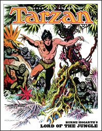 TARZAN Burne Hogarth's Lord of the Jungle
