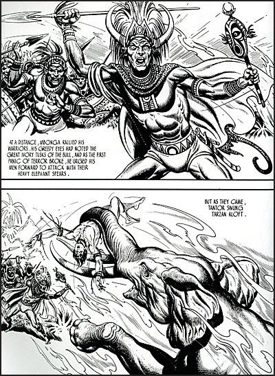 TARZAN Burne Hogarth's Lord of the Jungle-7182