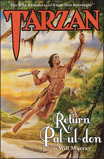 TARZAN RETURN TO PAL-UL-DON Deluxe Hardcover Signed-0