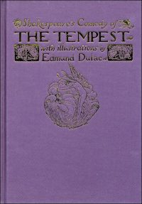 SHAKESPEARE'S COMEDY OF THE TEMPEST By Edmund Dulac