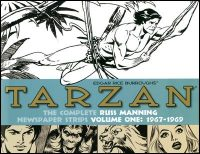 TARZAN The Complete Russ Mannning Newspaper Strips Volume 1