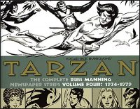 TARZAN The Complete Russ Mannning Newspaper Strips Volume 4