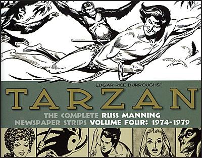 TARZAN The Complete Russ Mannning Newspaper Strips Volume 4-0