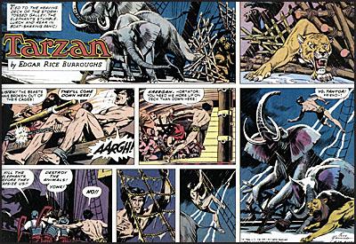 TARZAN The Complete Russ Mannning Newspaper Strips Volume 4-8274