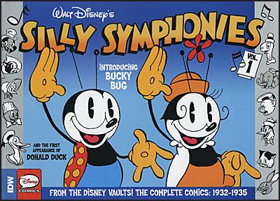 WALT DISNEY'S SILLY SYMPHONIES Volume 1 1932-1935